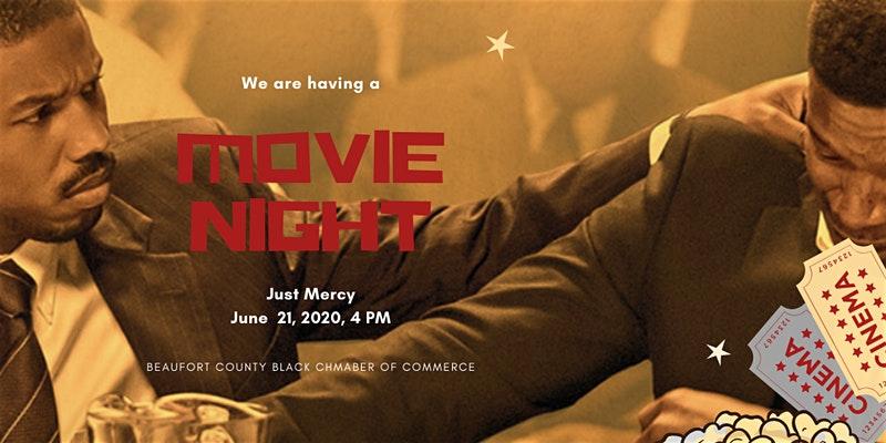 Movie Night ( Just Mercy)
